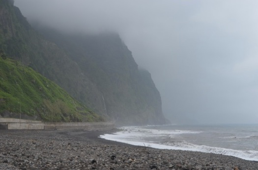 The north coast of Madeira.
